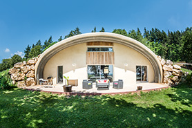 maison bioclimatique NaturaDome de NaturaDream